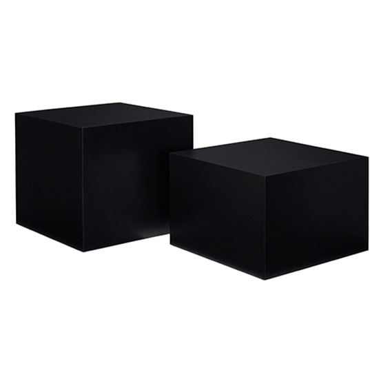 Cube Cocktail Table - Black