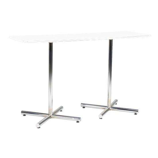 Blanco Bar Table - Rectangular